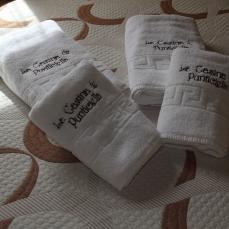 Detall de las toallas